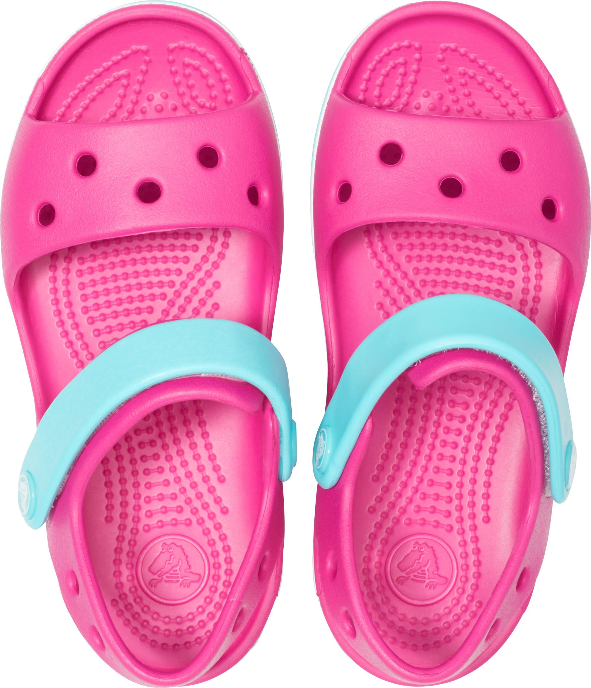 fb16a3cfcb11 Crocs Crocband Sandals Children pink turquoise at Addnature.co.uk